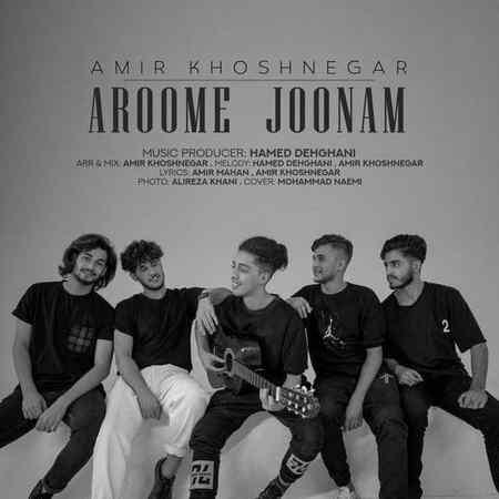 Amir Khoshnegar Aroome Joonam Musico.ir  دانلود آهنگ آروم جونم امیر خوشنگار